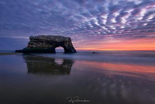 Natural Bridge Sunset