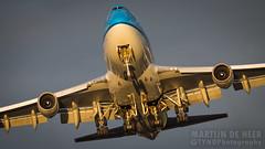 PH-BFM (tynophotography) Tags: klm 747400 phbfm 744 747 sunset ams eham boeing