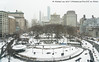 Snowy Union Square (20171230-DSC06280) (Michael.Lee.Pics.NYC) Tags: newyork unionsquare aerial burlington winter snow architecture cityscape sony a7rm2 fe2415mmf4g