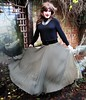 Having Fun (Amber :-)) Tags: long sunray pleated skirt tgirl transvestite crossdressing