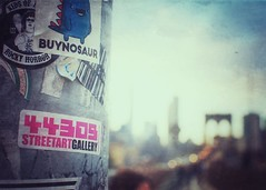 New York City (Mister Blur) Tags: new york city nyc street art gallery brooklyn bridge bokeh blur blurry lights shallow depthoffield snapseed nikon d7100 35mm f45 flicker