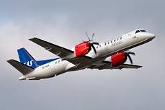 SE-KXK Saab 2000 SAS Scandinavian Airlines (Andreas Eriksson - VstPic) Tags: sekxk saab 2000 sas scandinavian airlines