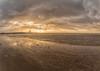 Crosby Beach Storm Eleanor (Steve Samosa Photography) Tags: clouds cloudy stormy storm eleanor crosby ironmen liverpool sefton beach sun sunset waterloo england unitedkingdom gb