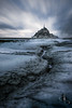Au pied du Mont (www.didierbonnettephotography.com) Tags: longexposure poselongue le moody mood ambiance atmosphère montsaintmichel normandie normandy grey blue france