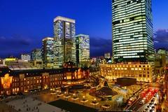 TOKYO STATION (linwujin) Tags: nightview tokyo station light building