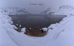 Nevada en Lago Enol (Norbert Cabeza Llanes) Tags: asturias lagos covadonga enol panoramica nieve snow aire libre landscape paraisonatural vuelvealparaíso agua montaña hielo h20 niebla cielo turismo natural paisaje arbol nature
