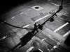 Business Man (Feldore) Tags: newyork business man high line light shadows crossing lines chelsea feldore mchugh em1 olympus 1240mm markings sunshine pov elevated above
