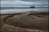 Bäcken och Havet (Jonas Thomén) Tags: bäck creek sea hav havet beach strand sand island ö vatten water clouds moln