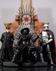 Throne of the First Order (Age of the Dark Reign) Tags: darkhorse blackseries mcfarlanetoys gameofthrones starwars firstorder forceawakens