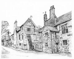 King's Manor, York: The passage to Museum Gardens