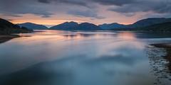 Sunset over Kingairloch and Loch Linnhe (Chris_Hoskins) Tags: scottishlandscape wwwexpressionsofscotlandcom scottishlandscapephotography landscape sunrise scotland glencoe
