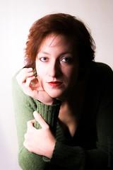 complementarity (simone.pelatti) Tags: portrait hardlight contrast shadow green red orange sony a6000 sonya6000 cosinon55f14