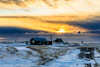 On a cold winters day- south coast, Iceland (Páll Guðjónsson) Tags: iceland southerniceland clouds cloudy huts rural snow winter wintersun