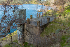 DSCF2726.jpg (RHMImages) Tags: landsape xt2 building decay englebright fuji hillside smartsville dam fujifilm lake