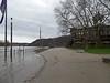 Hochwasser in Koblenz - Januar 2017 (onnola) Tags: mosel moselle koblenz rheinlandpfalz deutschland rhinelandpalatinate germany fluss river hochwasser flood überschwemmung weg uferweg fusweg path ufer riverside geländer railing treppe stairs