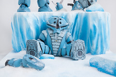 The Arctic Front (Britt Miscast) Tags: acguy arctic diorama gbwc gbwc2017 glacier gundam gunpla hotwirefoamfactory ice icicle nycc nycc2017 snow studiomiscast thearcticfront zgok