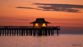 Naples Florida Sunsets by the Pier