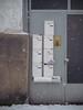 Bad Homburg | PC100029 (mkreibohm) Tags: badhomburg germany snow winter door doorway entrance house mailbox urban geometry minimalism minimal minimalist architecture street olympus omdem1 em1 digital mzuiko 25mm f12 pro
