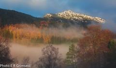 Løvstakken & Langeskogen (2000stargazer) Tags: løvstakken langeskogen bergen norway autumn autumncolours fall november snow mountains landscape nature fog canon