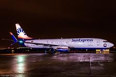 SunExpress TC-SOB HAJ at Night (U. Heinze) Tags: aircraft airlines airways planespotting plane flugzeug haj eddv hannoverlangenhagenairporthaj flugzeuge nikon night