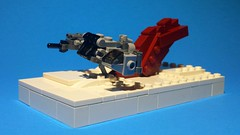 Resistance Skid-Speeder (Ty S.) Tags: starwars crait lego star wars waltdisney salt speeder hover