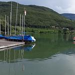Panorama Lido am Kalterner See mit Leuchtenburg thumbnail