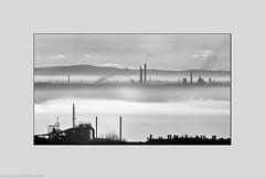 Runcorn Hill-29 (andyyoung37) Tags: merseyestuary mist runcorn runcornhill silhouette cheshire industry rivermersey england unitedkingdom gb