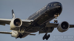 ZK-OKQ (tynophotography) Tags: air new zealand 777300er zkokq 777 77w lhr egll boeing