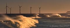 Whitecaps_C260748 (Jonathan Irwin Photography) Tags: whitecaps redcar off shore wind farm south gare