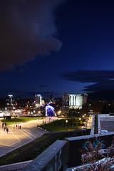 DSC_0042 (dobromirkalchevski) Tags: ндк ndk софия sofia българия bulgaria night december cold dusk winter clouds sky d3300