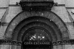 Corn Exchange in the snow (tercrossman87) Tags: canon ftb ql ilford hp5 400 1600 push ilfotec lc29 119 home development film plustek 8200i 50mm 18