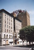 Wilkes-Barre  Pennsylvania - Hotel Sterling - As it Looked in 2002   Demolished - 2013 (Onasill ~ Bill Badzo) Tags: luzerne county suffered record flooding due tropical storm lee flood waters from nearby susquehanna river wilkes barre pa pennsylvania nrhp downtown street historic markent st banker lost structure plaza tower scaffold sign onasill hotel