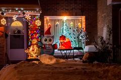 DSC_0557 (Copy) (pandjt) Tags: ottawa orlèans on ontario taffylane christmas christmaslights christmasseason christmasspirit lights lighting nightphotography night ledlights ledlighting house colours colors decorations winterscenic winter winterphotography