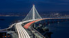 Rush hour on the new Bay Bridge (Reiner.in.SF) Tags: sanfrancisco california oakland baybridge bridge newbaybridge traffic