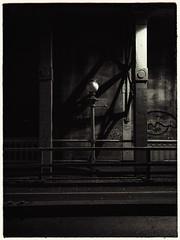 Snapshot of the High level bridge last night. (Mark240590) Tags: abstract victorian gothic shotoniphone bw blackandwhite digitalart mono art