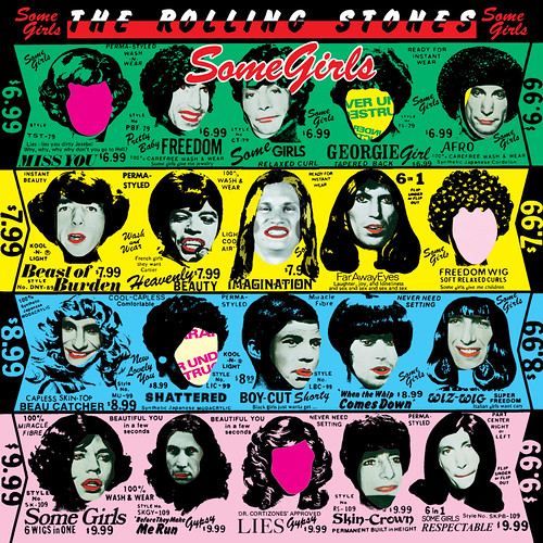 """Carolina Panthers receiver Brenton Bersin on the Rolling Stones """"Some Girls"""" cover, 1978."""
