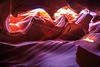 Light Beam in Antelope Canyon (Bartfett) Tags: lower antelope canyon light beam ray navajo nation arizona page slot purple orange glow small sandstone beautiful colors sun sunbeam curve gateway underground cavern