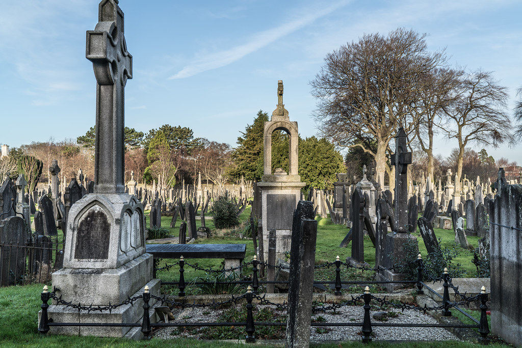 VISIT TO GLASNEVIN CEMETERY IN DUBLIN [FIRST SESSION OF 2018]-134904