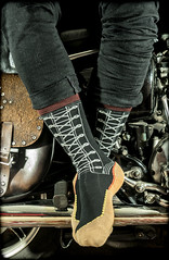 Dr Martens. 1460 sock. . . (CWhatPhotos) Tags: cwhatphotos dr marten martens docs doc dm dms airwair yellow stitching uk laces lace cushioned sole new artist artistic view picture photo foto image images photos fotos photographs that have which socks sock feet foot size motorcycle 1460 1460socks