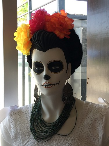 "La Catrina found in Cozumel, Mexico • <a style=""font-size:0.8em;"" href=""http://www.flickr.com/photos/28558260@N04/38104441985/"" target=""_blank"">View on Flickr</a>"