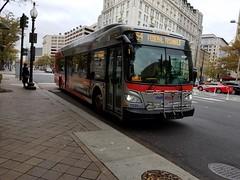 2016 New Flyer XDE40 #7335 (abear320) Tags: transit bus wmata washington metropolitan area authority new flyer dc