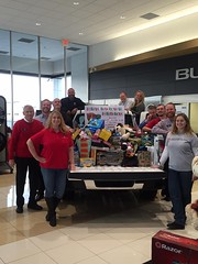 Toy Drive with Quality GMC. Toys were donated to Oasis Wonen'S Center.