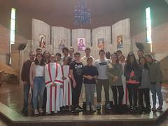 """15.10.2017 S.Messa di accoglienza del nuovo incaricato della pastorale giovanile don Luca e di Padre Ferdinand missionario in Burundi.Al termine aperitivo in Oratorio_2 • <a style=""""font-size:0.8em;"""" href=""""http://www.flickr.com/photos/82334474@N06/38234456205/"""" target=""""_blank"""">View on Flickr</a>"""