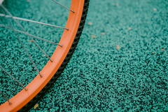 Bike Tire (bady_qb) Tags: tire bicycle bike mobike dof fuji film xt1 23mm