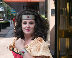 Wonder Woman (jwcjr) Tags: atlantaga atlantapeople dragoncon dragoncon2015 people atlanta wonderwoman woman face portrait streetportrait costume fuji