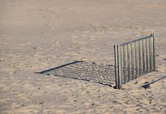 Bike Rack Shadows (MTSOfan) Tags: bikerack parking shadow sand beach assateague