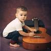 В гитаристы б я пошел - пусть меня научат! (MissSmile) Tags: misssmile child kid boy toddler sweet memories studio music fun funny