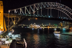 Sydney at Night (Manny Esguerra) Tags: sydney city cityscape