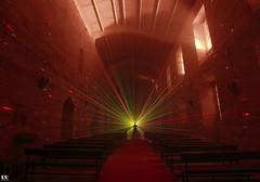 Light Painting with Laser (albertoleiras) Tags: canon1740f4l canon6d lightpainting laser monasteriosantacatalina