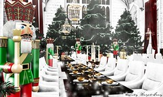 A Hogwarts Mischief Managed Christmas [Lily Gray] (Lily Hazel-Gray) Tags: harrypotter secondlife sl roleplay rp mischiefmanaged winterball hogwarts a mischief managed christmas